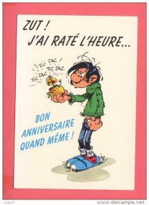 Ok je l'admets il n'y a aucun lien entre Jack London et Gaston Lagaffe mais j'adore ces illustrations pour les anniversaires ;) !